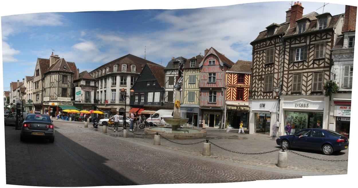 Auxerre Frankreich